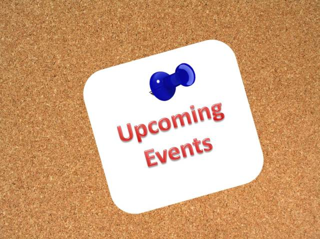 Check out all our upcoming events!