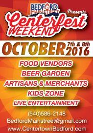 Centerfest 2016 Basic Poster